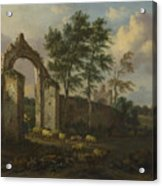 A Landscape With A Ruined Archway Acrylic Print
