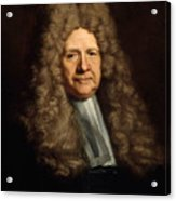A Magistrate Painting Painted Originally Acrylic Print