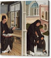 A Miracle Of Saint Benedict Acrylic Print