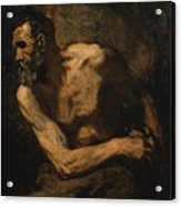 A Miser Study For Timon Of Athens Acrylic Print