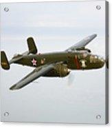 A North American B-25 Mitchell Acrylic Print