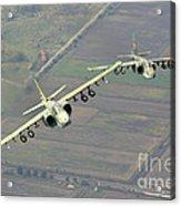A Pair Of Bulgarian Air Force Sukhoi Acrylic Print