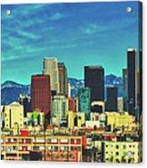 A Slice Of Los Angeles Acrylic Print