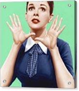 A Star Is Born, Judy Garland, 1954 Acrylic Print by Everett