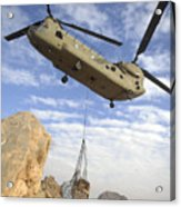 A U.s. Army Ch-47 Chinook Helicopter Acrylic Print