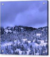 A Utah Winter Acrylic Print