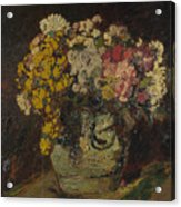 A Vase Of Wild Flowers Acrylic Print