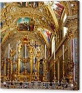 Abbey Of Montecassino Altar Acrylic Print