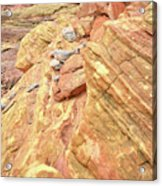 Above Wash 3 In Valley Of Fire Acrylic Print