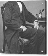 Abraham Lincoln Acrylic Print