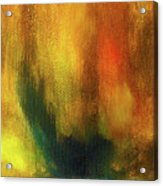 Abstract Background Structure With Oil Painting Texture In Tones Of Nature. Acrylic Print