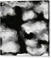 Abstract Monochome 159 Acrylic Print