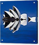 Abstract Of Sydney Opera House Acrylic Print