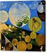 Abstract Painting - Lochmara Acrylic Print