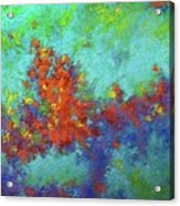 Abstract Pallet Oil Color Acrylic Print