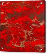 Lava Lust Abstract  Acrylic Print