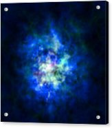 Abstract Stars Nebula Acrylic Print