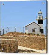 Acre, The Lighthouse  Acrylic Print