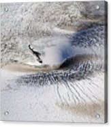 Aerial Photo Langjokull Iceland Acrylic Print
