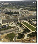 Aerial Photograph Of The Pentagon Acrylic Print