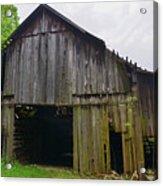 Aged Wood Barn Series Acrylic Print