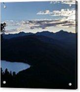 Agnes Lake Montana Acrylic Print