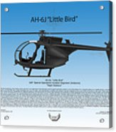 Ah-6j Little Bird Acrylic Print
