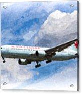 Air Canada Boeing 767 Art Acrylic Print