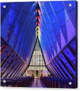 Air Force Academy Cadet Chapel Acrylic Print