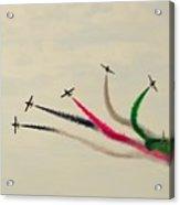 Air-show Acrylic Print