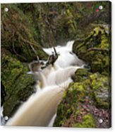 Aira Force Lower Stone Bridge Acrylic Print