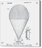 Airship Patent 1913 Acrylic Print