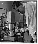 Albert Ghiorso, American Nuclear Chemist Acrylic Print