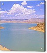 Albiquiu Reservoir, Route 84, New Mexico Acrylic Print