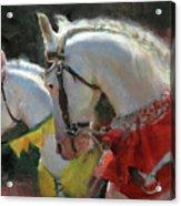 All The King's Horses Acrylic Print