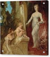 Allegory Of Painting Acrylic Print