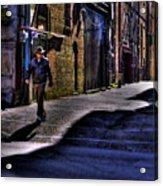 Alley Stroll Acrylic Print