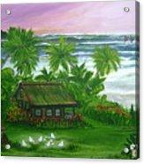 Aloha Morning Acrylic Print
