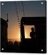 Amazing Tankwa Sunset Acrylic Print