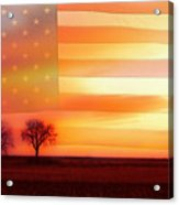 America The Beautiful Acrylic Print