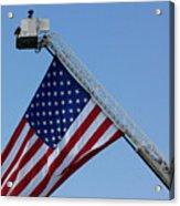 American Firefighter Acrylic Print