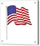 American Flag Acrylic Print