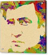 American Legend Johnny Cash Acrylic Print