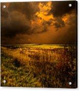An Autumn Storm Acrylic Print by Phil Koch