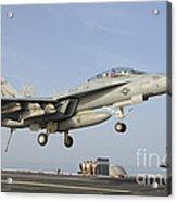 An Fa-18e Super Hornet Makes An Acrylic Print