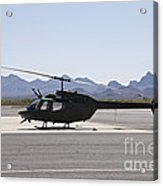 An Oh-58 Kiowa Helicopter Of The U.s Acrylic Print