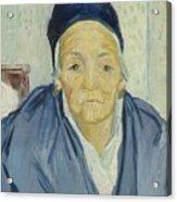 An Old Woman Of Arles Arles, February 1888 Vincent Van Gogh 1853 - 1890 Acrylic Print