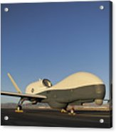 An Rq-4 Global Hawk Unmanned Aerial Acrylic Print