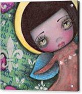 Angel Girl Acrylic Print