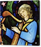 Angel Musician, 1881 Acrylic Print